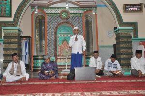Sambutan Keuchik Gampong Geuceu Kayee Jato